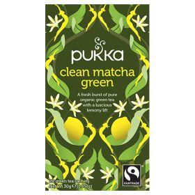 Clean Matcha Green Tea - Organic 4x20