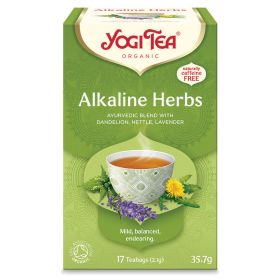 Alkaline Herbs Tea - Organic 6x17bags