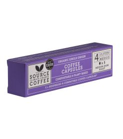 Compostable Capsules Mexican Cloud Forest Coffee Box Organic
