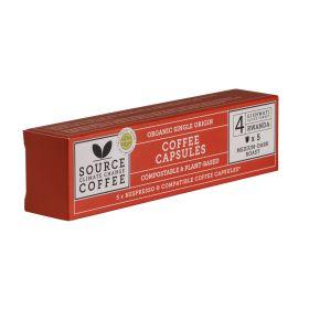 Compostable Capsules Rwandan Cloud Forest Coffee Box Organic