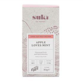 Apple Loves Mint Loose Tea Plastic Free 6x80g