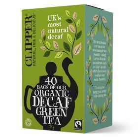 Decaf Green Tea Bags FTM - Organic 6x40