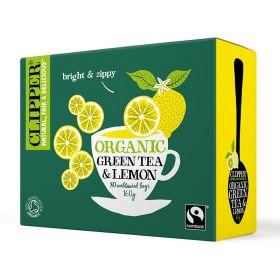 Green & Lemon Tea Bags FTM - Organic 4x80