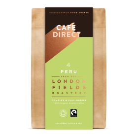 London Fields Peru Ground Coffee (4) - Organic 6x200g