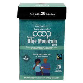 Blue Mountain Ground Coffee Bags (6) FTM 6x20x8g