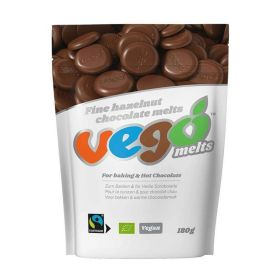 Fine Hazelnut Chocolate Melts - Organic 10x180g