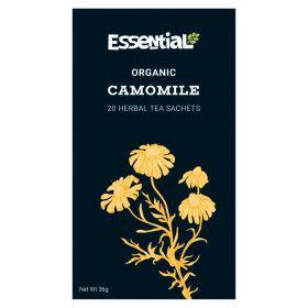 Camomile Herbal Infusion Tea - Organic 4x20