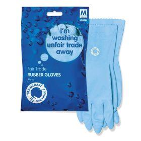 Fair Trade Rubber Gloves 1x1 pair