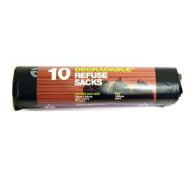 Refuse Sacks - 100% Degradable 24x10bags