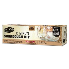 15 Minute Sourdough Kit Boxed 1x1