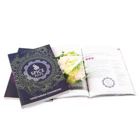 Spice Pots Vegetarian Cook Book 4x1