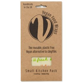 Vegan Wrap - Small Kitchen Pack (1xS & 1xM wraps) 1x1