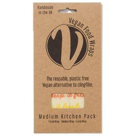 Vegan Wrap - Medium Kitchen Pack (1xS, 1xM, 1xL wraps) 1x1