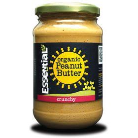 Crunchy Peanut Butter - Salted - Organic 6x350g