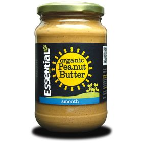 Smooth Peanut Butter - Salted - Organic 6x350g