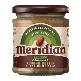 Smooth Almond Butter - Salted - Organic 6x170g