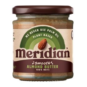 Smooth Almond Butter - Unsalted 6x170g