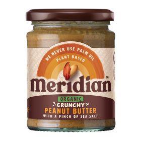 Crunchy Peanut Butter- Salted- Organic 6x280g