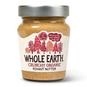 Crunchy Peanut Butter - Salted - Organic 6x227g