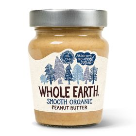 Smooth Peanut Butter - Salted - Organic 6x227g