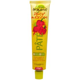 Spicy Mexican Pate - Tube - Organic 12x200g