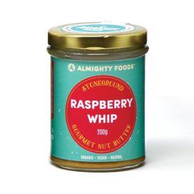 Raspberry Whip Gourmet Nut Butter Organic 8x200g
