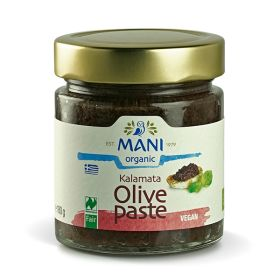 Kalamata Olive Paste - Organic 6x180g
