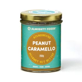 Peanut Caramello Gourmet Nut Butter - Organic 8x200g