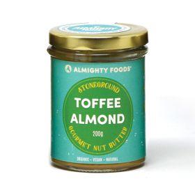 Toffee Almond Gourmet Nut Butter - Organic 8x200g