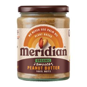 Smooth 100% Peanut Butter - Organic 6x470g