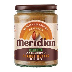 Crunchy 100% Peanut Butter - Organic 6x470g
