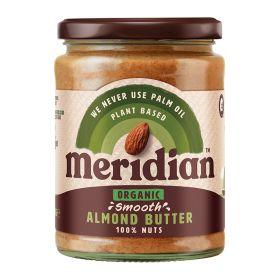 Smooth 100% Almond Butter - Organic 6x470g