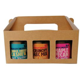 Hungry Squirrel 3 Jar Gift Pack 1x(3x150g)