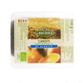 Orange Peel - Candied - Organic 8x100g