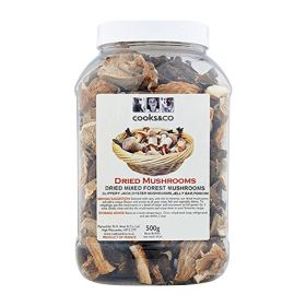 Dried Mixed Forest Mushrooms in Tub 1x500g
