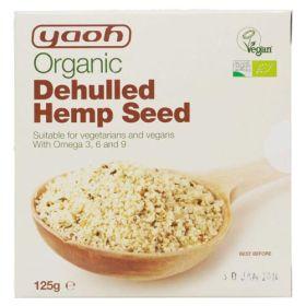 Dehulled Hemp Seeds - Organic 1x125g