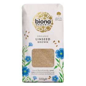 Brown Linseed - Organic 6x500g