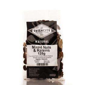 Mixed Nuts and Raisins 8x125g