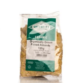 Almonds - Flaked - Organic 10x125g