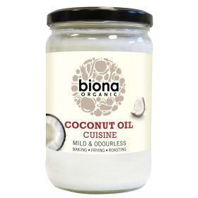 Mild Coconut Oil Cuisine (Odourless) - Organic 6x610ml