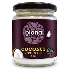 Raw Virgin Coconut Oil - Organic 6x200g