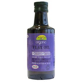 Flax Oil - Cold Pressed - Organic 6x260ml