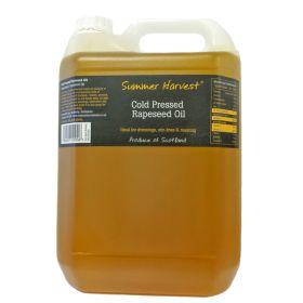 Scottish Rapeseed Oil CP 1x5lt