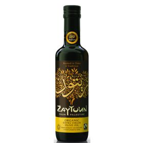 Palestinian Extra Virgin Olive Oil - Organic 6x250ml