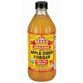 """Apple Cider Vinegar (With """"The Mother"""") - Organic 12x473ml"""