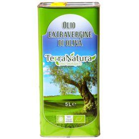 Olive Oil (XV) EU - Organic 1x5lt