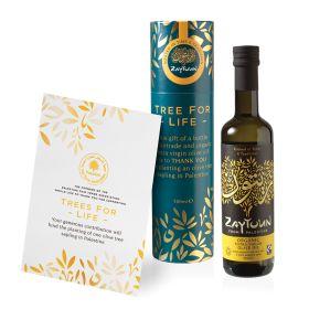 Palestine Tree Planting & Olive Oil Tube - Organic 1x500ml