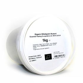 Wholegrain Mustard - Organic 1x1kg