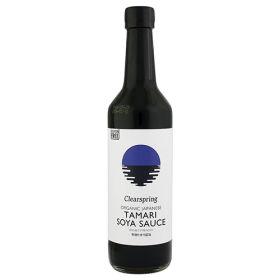 Yaemon Tamari Soya Sauce  - Double Strength - Organic 6x500m