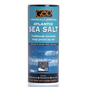 Atlantic Sea Salt Crystals- Organic 6x250g